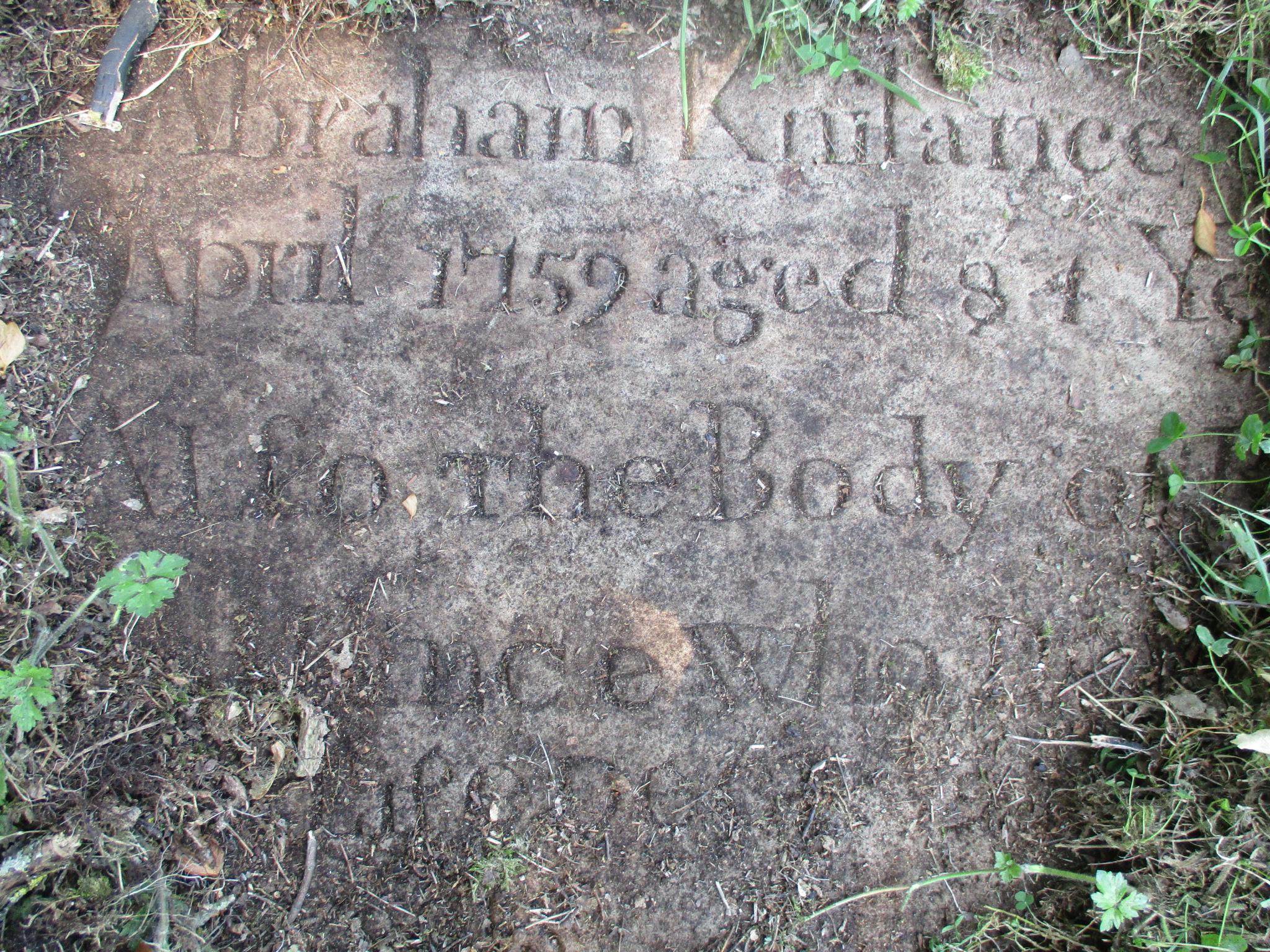 Uncovered-gravestone-in-Castlederg